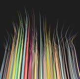 3d draadlijnen in verschillende kleuren Royalty-vrije Stock Foto's