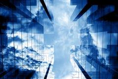 3d drapacze chmur Zdjęcie Stock