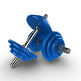 3d dumbells Royalty Free Stock Images