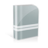 3d dvd case Royalty Free Stock Photography