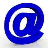 3d e邮件符号 库存照片