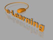 3D e-leert - Stock Foto's