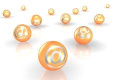 3D e-mail vector illustratie
