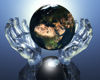 3D Earth Royalty Free Stock Image