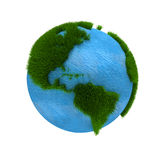 3D Earth Royalty Free Stock Photo