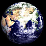 3D Earth. 3D Textured Earth - Middle East royalty free illustration
