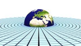 3d earth(europe) Stock Photos