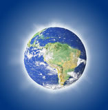 3d Earth Render Royalty Free Stock Image