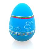 3D easter egg Stock Images