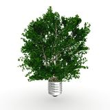 3d Eco energy concept Royalty Free Stock Photo