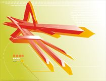 3d elements. This is a illustration of 3d elements vector illustration