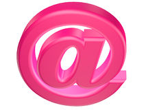 3d email symbol Royalty Free Stock Photography