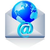 3d emaila wektoru świat Obraz Stock