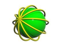 3D embleem Stock Foto