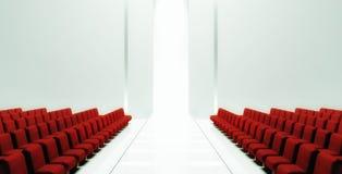 3d Empty fashion runway Royalty Free Stock Photo