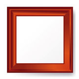 3d empty frame on the wall. Royalty Free Stock Images