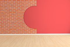 3d empty room Stock Photography