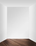 3D Empty Room royalty free illustration