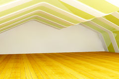 3d empty room Stock Image