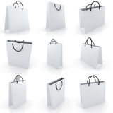 3d empty shopping bag Royalty Free Stock Photography
