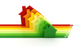 3d, Energy efficiency concept Royalty Free Stock Images