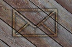 3d envelop Stock Afbeeldingen