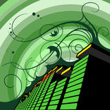 3D Equalizer Stock Images