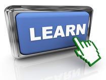 3d erlernen Taste und Nadelanzeige Stockfotos