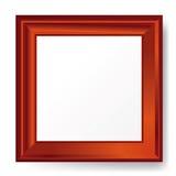 3d esvaziam o frame na parede. Imagens de Stock Royalty Free