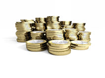 3d euro coin Stock Photography
