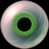 3d eyeball Stock Images