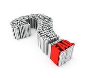 3D FAQ Stock Foto