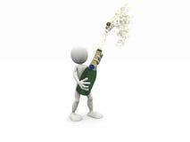 3d feiern Konzept Lizenzfreies Stockbild