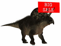 3D Figure With Sale Sign Stock Images