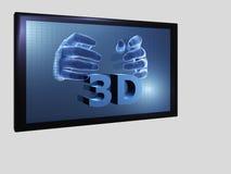 3D films stock illustratie