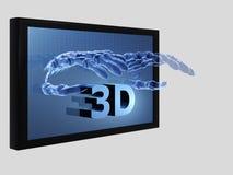 3D films Stock Afbeeldingen
