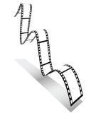 3d filmstrip Royalty Free Stock Image