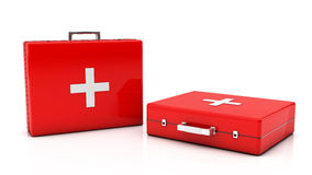 3d First aid kit Stock Image