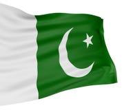 3D flag of Pakistan Stock Photography
