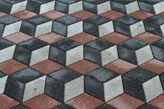 3d floor tiles Stock Images