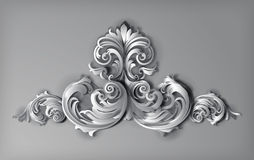 3d Florals Vector stock photography