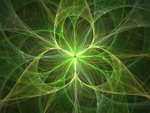 3D flower light abstract royalty free stock image