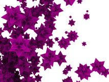 3d flower stars Stock Images