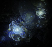 3d flower universe Royalty Free Stock Image