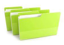 3d folders Royalty Free Stock Photos