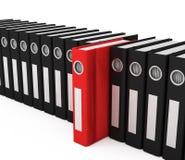 3d Folders Stock Images