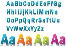 3D Font Stock Images