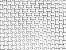 3D framförde illustrationen av flätad samman fiber Royaltyfri Bild
