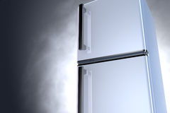 3D fridge - close up Royalty Free Stock Photo