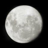 3D full moon Royalty Free Stock Photography